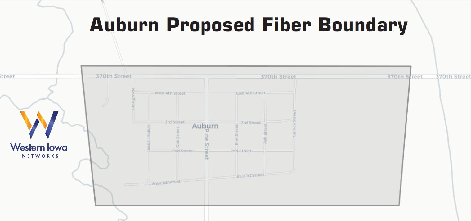 Auburn fiberhood boundary
